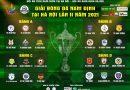 Khai mạc giải bóng đá Nam Định tại Hà Nội lần thứ 2 năm 2021
