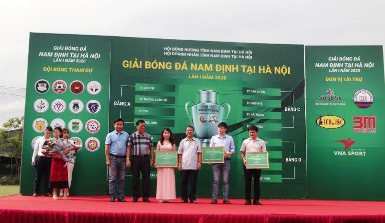 Ấn tượng lễ khai mạc giải bóng đá Nam Định tại Hà Nội