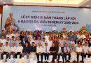 Hội Doanh nhân Nam Định tại Hà Nội kỷ niệm 10 năm thành lập và Đại hội Đại biểu nhiệm kỳ 2019 – 2024