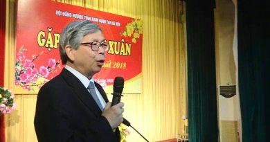 Thông báo của Ban liên lạc Hội đồng hương Nam Định Tại Hà Nội